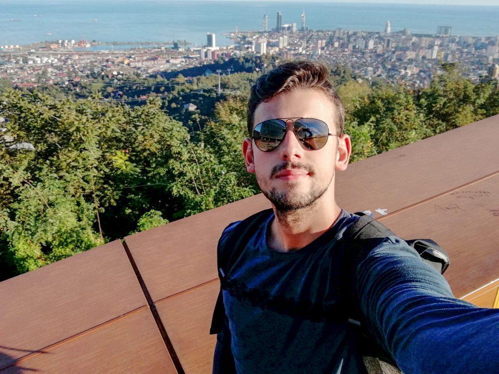 Και μια selfie από ψηλά στο Μπατούμι