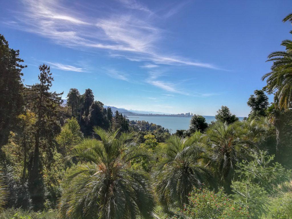 Η πόλη του Μπατούμι με θέα από το Βοτανικό Κήπο