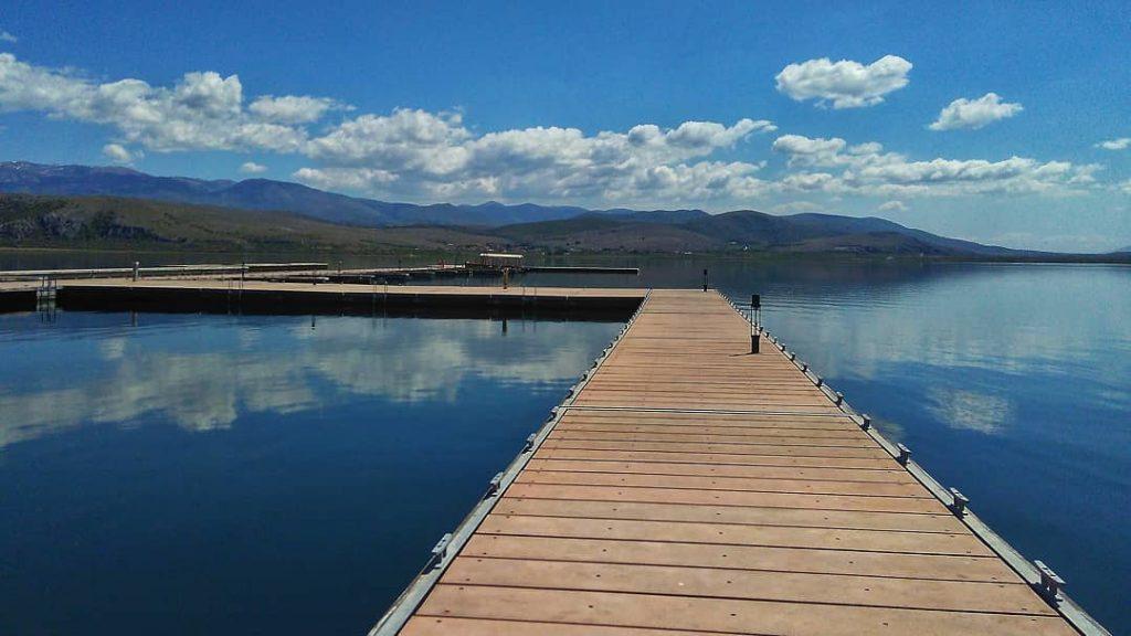 Στη Λίμνη Βεγορίτιδα κοντά στη Φλώρινα