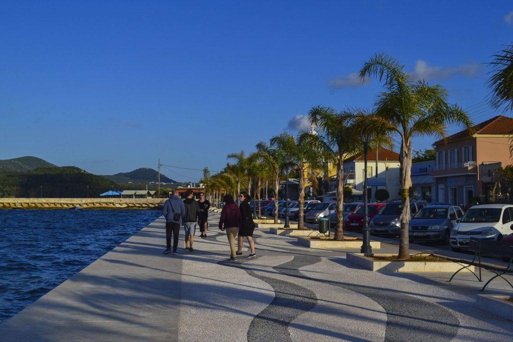 Βόλτα στην παραλία του Αργοστολίου στην Κεφαλονιά