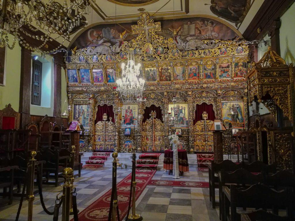 Ο ναός του Αγίου Χαραλάμπους
