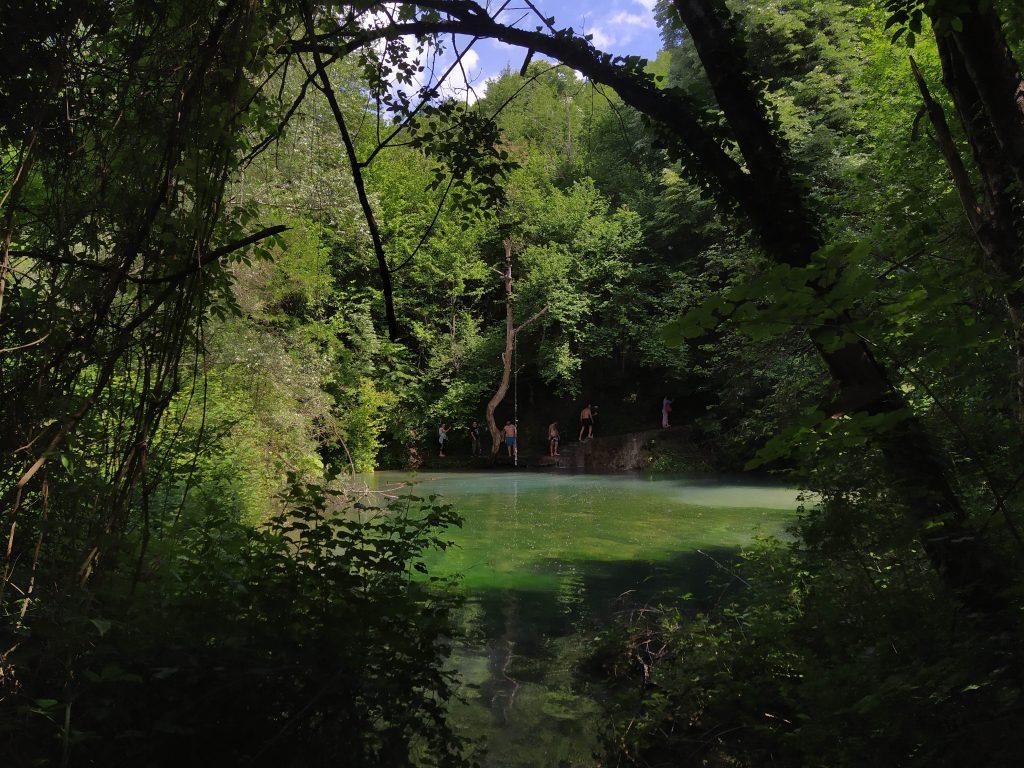 Πρώτη Εικόνα στη Γαλάζια Λίμνη Σκρα