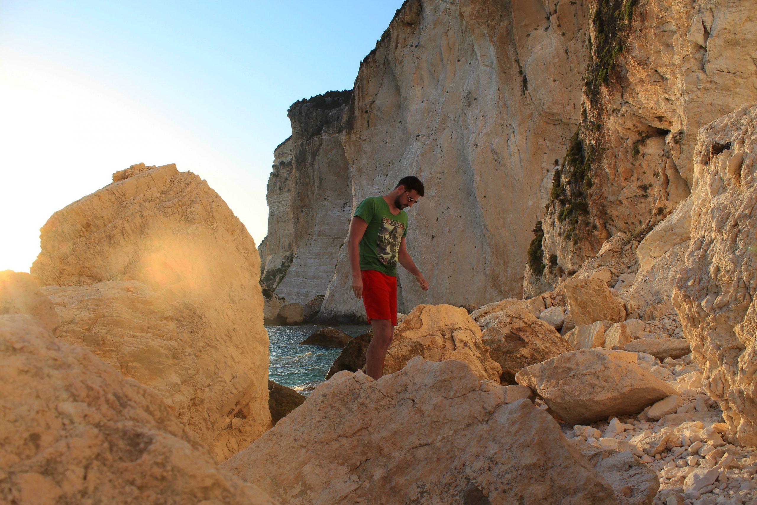Παραλία Ερημίτη Παξοί