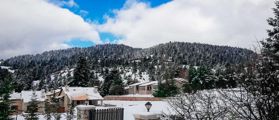 Τα Καλάβρυτα χιονισμένα