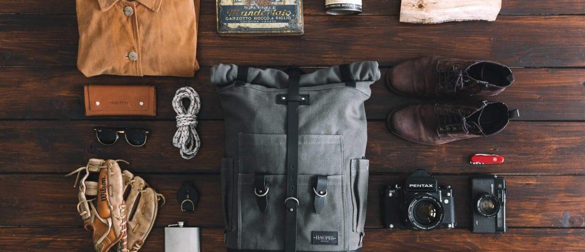 Προετοιμασία για ταξίδι με backpack